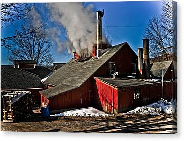Goulds Sugarhouse Canvas Print