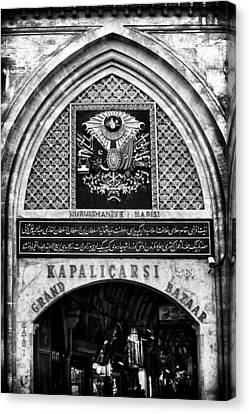 Sultanhmet Canvas Print - Grand Bazaar by John Rizzuto