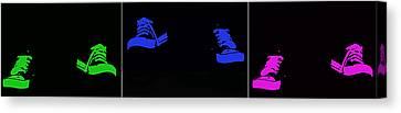 Happy Feet Canvas Print by Lisa Knechtel