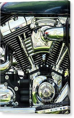 Harley Power Canvas Print