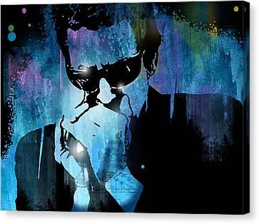 Harmonica Blues Canvas Print by Paul Sachtleben