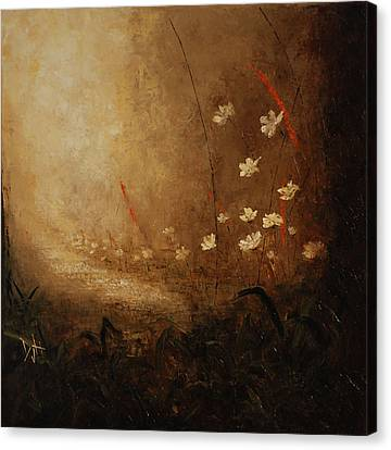 Hidden Path Canvas Print by Debra Houston