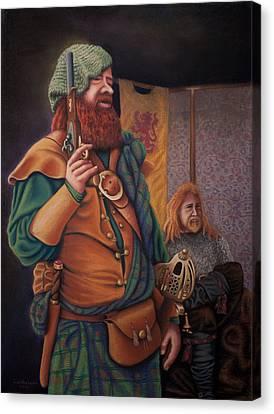Highlanders Canvas Print by Sandra Lynn