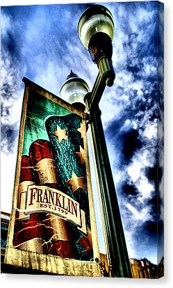 Historic Downtown Franklin Canvas Print by Ione Starr