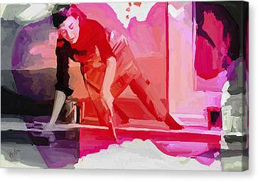 Homage To Helen Frankenthaler 1928 2011 Canvas Print
