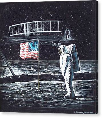If They Only Knew Canvas Print by Norman F Jackson