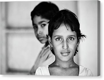 Indian Eyes Canvas Print