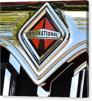 International Truck II Canvas Print