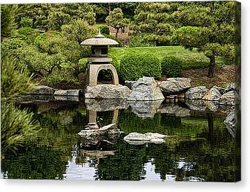 Japanese Garden Canvas Print by Catherine Fenner