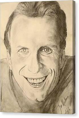 Joe Montana Canvas Print by Art by AK