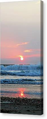 Canvas Print featuring the photograph Just The Beginning by Linda Mesibov