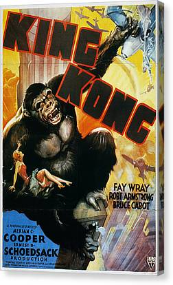 King Kong Poster, 1933 Canvas Print by Granger