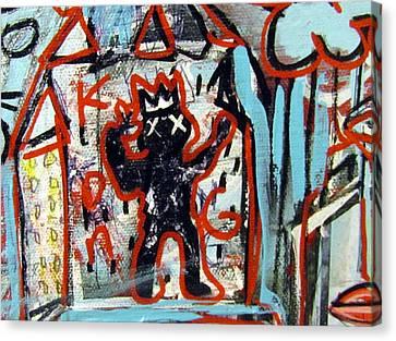 Kong Canvas Print by Robert Wolverton Jr