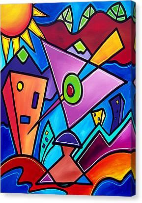 Kozmotology Canvas Print by Tom Fedro - Fidostudio