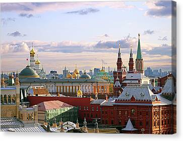 Kremlin, Moscow, Russia Canvas Print by Lars Ruecker