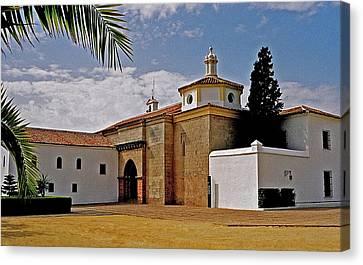 La Rabida Monastery - Huelva Canvas Print by Juergen Weiss