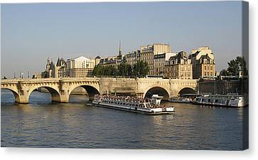 Le Pont Neuf. Paris. Canvas Print by Bernard Jaubert