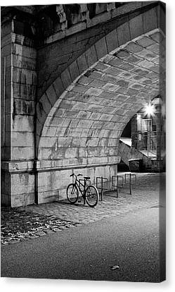 Le Vélo Canvas Print by I hope you'll like it