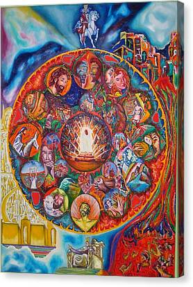 Life Of Christ Canvas Print by Kennedy Paizs