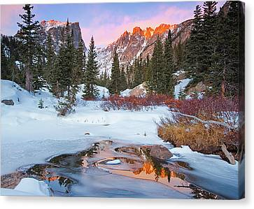 Little Stream Canvas Print by Wayne Boland