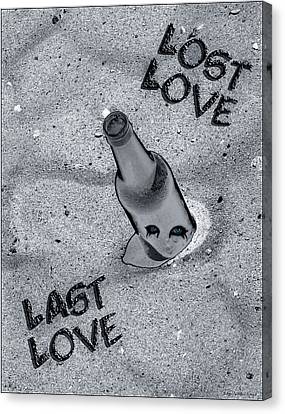 Lost Love Last Love Canvas Print by Shelly Stallings