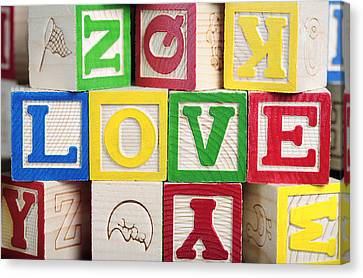 Love Canvas Print by Neil Overy