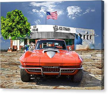 Made In The U.s.a. Canvas Print by Michael Cleere