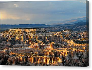 Magical Light At Bryce Canyon  Canvas Print