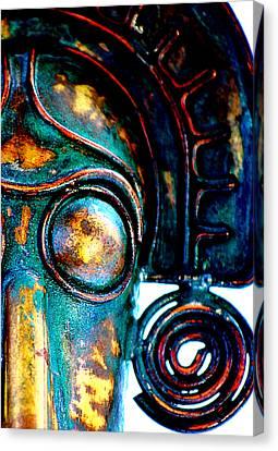 Masked Canvas Print by Floyd Menezes