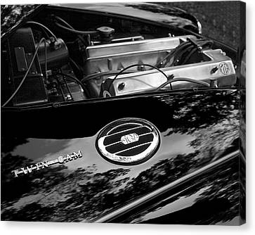 Mga Twin Cam Canvas Print by Alan Raasch