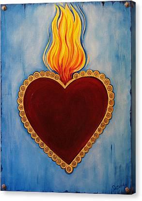 Sacred Canvas Print - Milagro by Sabina Espinet
