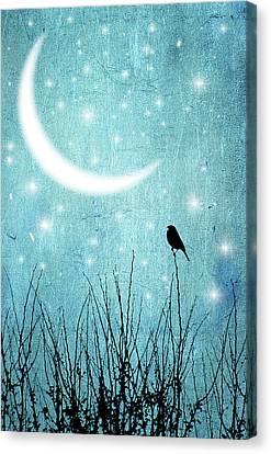 Moonlight Sonata Canvas Print by Marta Nardini