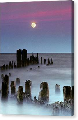 Moonrise Canvas Print by James Jordan Photography