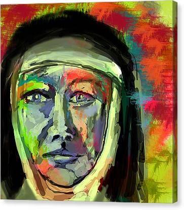 Mother Mary Mackillop Canvas Print