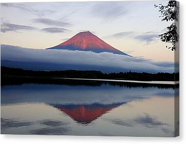 Mount Fuji Canvas Print by Japan from my eyes