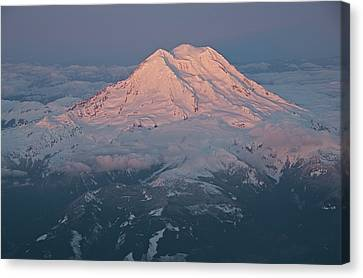 Mount Rainier, Wa Canvas Print by Professional geographer who loves to capture landscapes