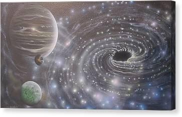 Multiverse 584 Canvas Print by Sam Del Russi