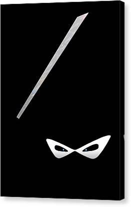 Ninja Canvas Print by Nicklas Gustafsson