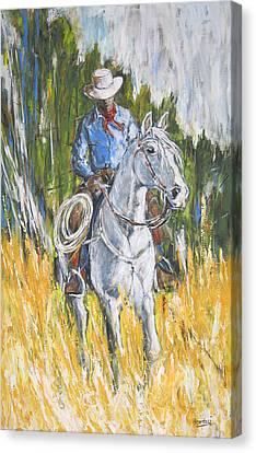 No Looking Back Canvas Print by Debora Cardaci