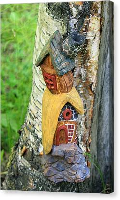 No Place Like Gnome Home IIi Canvas Print by Eric Knowlton