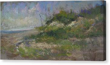 Ocean City Dune Canvas Print by Susan Williamson