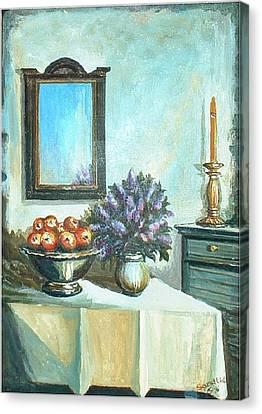 Old Memories 2 Canvas Print by Sinisa Saratlic