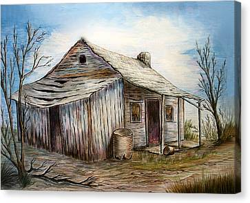 Our House Canvas Print by Sue Ireland