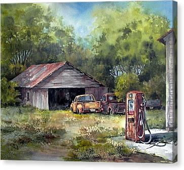 Outta Gas Canvas Print by Tina Bohlman