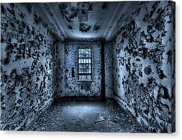 Asylum Canvas Print - Panic Room by Evelina Kremsdorf