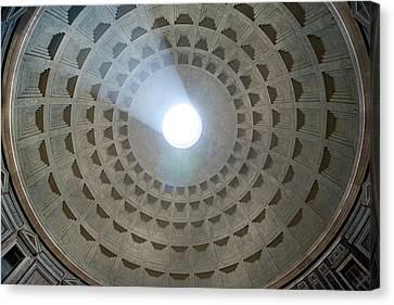 Pantheon Cupola Canvas Print