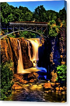 Paterson's Great Falls IIi Canvas Print by David Hahn