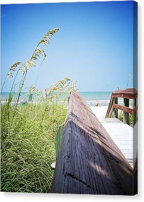 Path To Relaxation Vanilla Pop Canvas Print by Chris Andruskiewicz