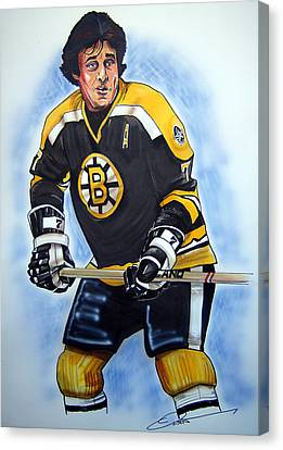 Phil Esposito Canvas Print by Dave Olsen