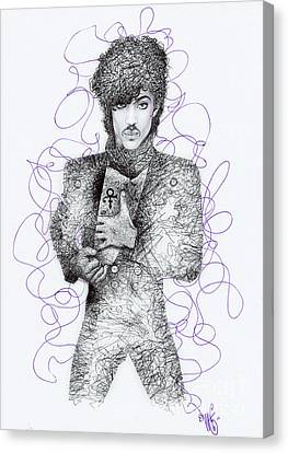 Prince Canvas Print by Wave Art